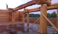 Pioneer wooden houses