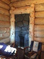Bath houses from cedar
