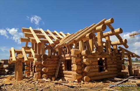 Log house on order