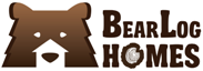 Hand-made cedar houses from log cabins manufacturer - Bear log