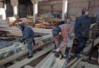 The team of the company Bear log - good houses of cedar