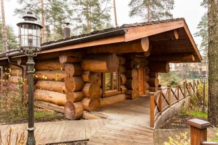 Cedar bath from a large log 60 cm