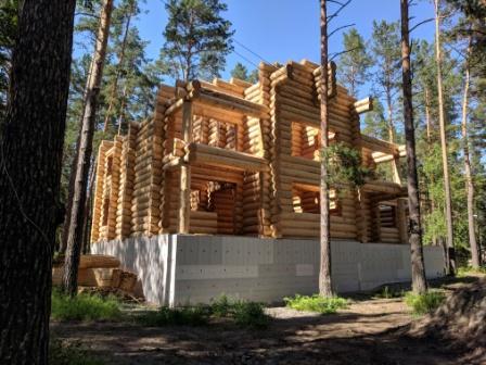 "House of cedar ""Altai"""