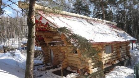 "Chopped cedar house ""BEST"""