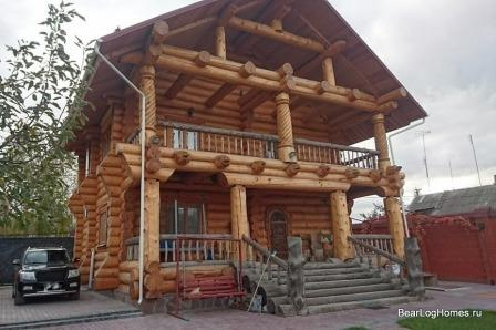 "House of chopped cedar ""Sarat"""