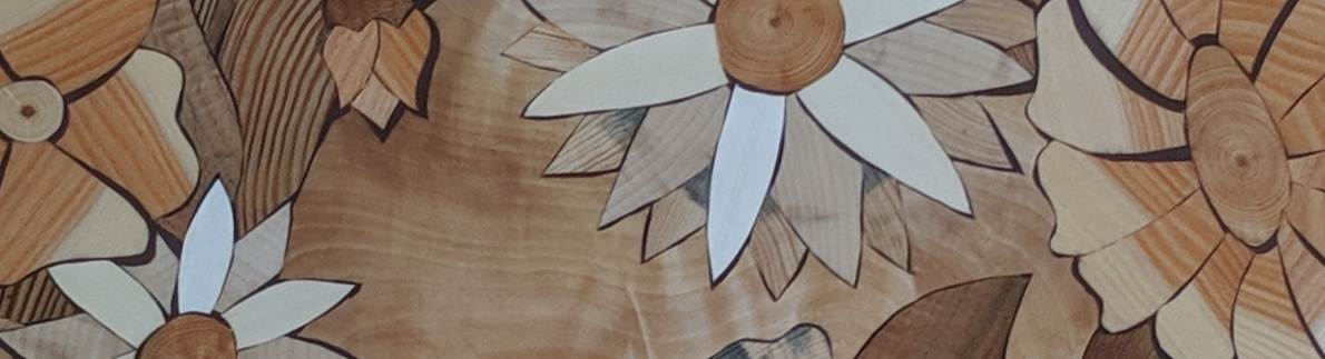 Wooden mosaic - inlay or marquetry?